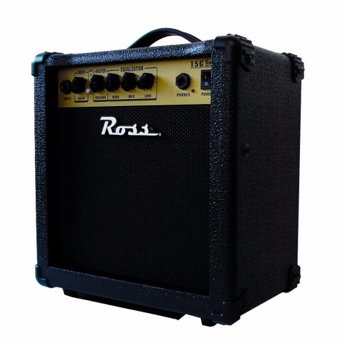 "Amplificador para guitarra 6"", 15 watts - 15G - Ross"