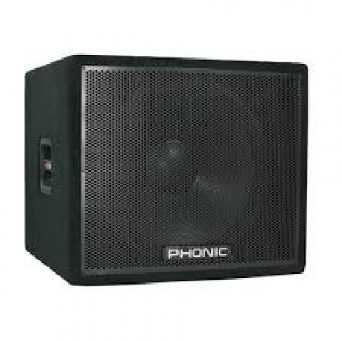 "Sublow de 18"", 4 ohm, 400w - ASK18SB - Phonic"