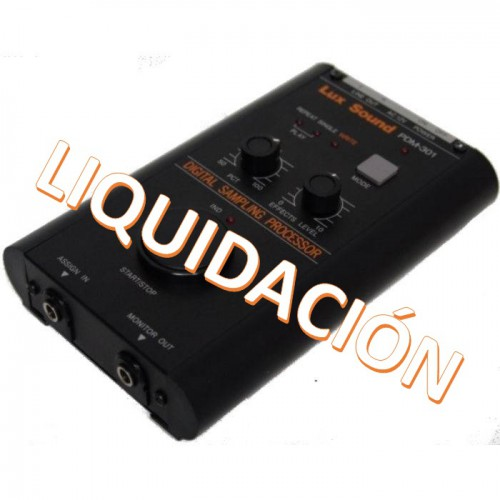 Digital sampler para DJ - PDM301 - Lux Sound