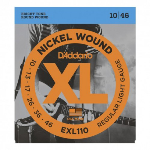 Encordado para eléctrica de nickel, regular blandas - EXL110 - D`Addario
